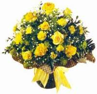 Batman çiçek , çiçekçi , çiçekçilik  Sari gül karanfil ve kir çiçekleri