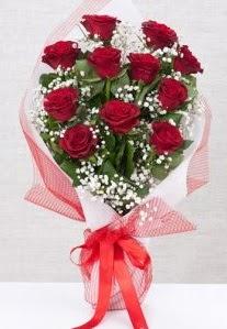11 kırmızı gülden buket çiçeği  Batman 14 şubat sevgililer günü çiçek