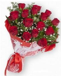 11 kırmızı gülden buket  Batman güvenli kaliteli hızlı çiçek