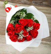 9 kırmızı gülden buket çiçeği  Batman çiçek gönderme