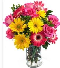 Vazoda Karışık mevsim çiçeği  Batman çiçekçi mağazası