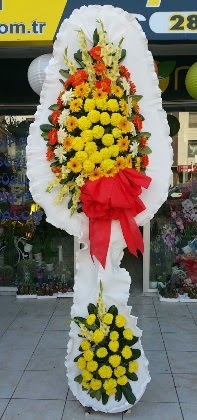 Çift katlı düğün nikah açılış çiçeği  Batman güvenli kaliteli hızlı çiçek