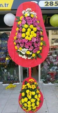 Çift katlı düğün nikah açılış çiçek modeli  Batman online çiçek gönderme sipariş