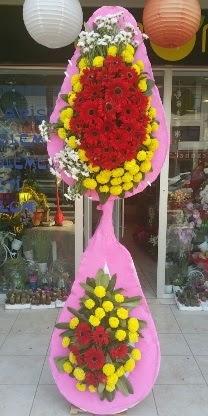 Çift katlı düğün nikah açılış çiçek modeli  Batman çiçekçiler