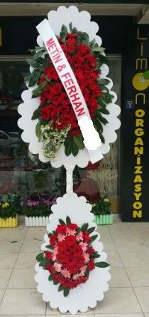 Çift katlı düğün nikah çiçeği modeli  Batman çiçek siparişi sitesi