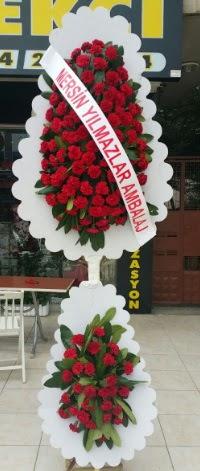Çift katlı düğün nikah çiçeği modeli  Batman hediye çiçek yolla