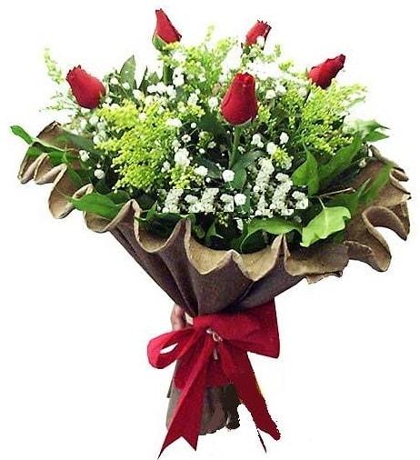 5 adet gülden buket  Batman çiçek gönderme sitemiz güvenlidir