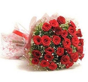 27 Adet kırmızı gül buketi  Batman ucuz çiçek gönder