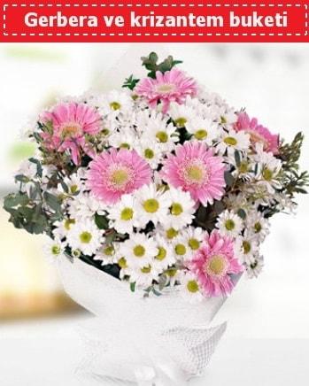 Papatya ve Gerbera Buketi  Batman çiçek , çiçekçi , çiçekçilik