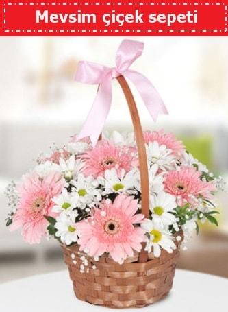 Mevsim kır çiçek sepeti  Batman çiçek , çiçekçi , çiçekçilik